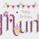 Mum Birthday Cross Stitch Kit additional 3