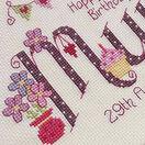 Mum Birthday Cross Stitch Kit additional 2