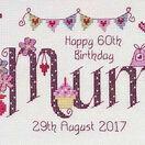 Mum Birthday Cross Stitch Kit additional 1