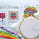 Beginners Modern Flower - Learn How To Cross Stitch Complete Tutorial Kit additional 4