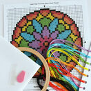 Beginners Modern Flower - Learn How To Cross Stitch Complete Tutorial Kit additional 3