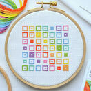 Beginners Squares - Learn How To Cross Stitch Complete Tutorial Kit additional 1