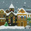 Christmas City Cross Stitch Kit additional 1