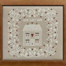 White Home Sweet Home Cross Stitch Kit additional 2