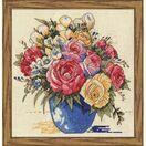 Pastel Floral Vase Cross Stitch Kit additional 2