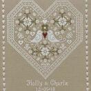 Love Birds Wedding Sampler Cross Stitch Kit additional 1