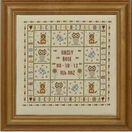 Four Foxes Birth Sampler Cross Stitch Kit additional 2
