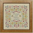 Flower Wedding Sampler Cross Stitch Kit additional 2