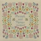 Flower Wedding Sampler Cross Stitch Kit additional 1