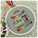 Rainbow Birth Sampler Cross Stitch Kit additional 3