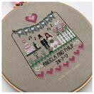 Pink Hearts Wedding Sampler Cross Stitch Kit additional 3