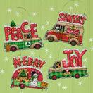 Holiday Truck Ornaments Set Cross Stitch Kit additional 2
