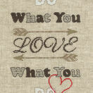Do What You Love Cross Stitch Kit additional 1