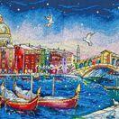 Holiday Venice Cross Stitch Kit additional 1