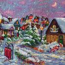 Christmas Night Cross Stitch Kit additional 1