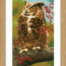 Owl In Autumn Cross Stitch Kit additional 2