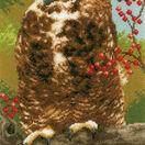 Owl In Autumn Cross Stitch Kit additional 1