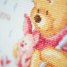 Winnie In The Rain Birth Record Disney Cross Stitch Kit additional 4