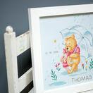 Winnie In The Rain Birth Record Disney Cross Stitch Kit additional 3