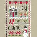 Christmas Wishes (Little Dove) Cross Stitch Kit additional 1
