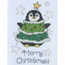 Daisy Penguin Cross Stitch Christmas Card Kit additional 2