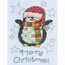 Maisie Penguin Cross Stitch Christmas Card Kit additional 2