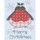 Arthur Robin Cross Stitch Christmas Card Kit additional 2