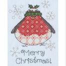 Arthur Robin Cross Stitch Christmas Card Kit additional 1