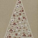 Scandi Christmas Tree Cross Stitch Kit additional 3