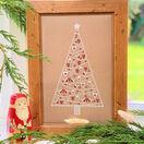 Scandi Christmas Tree Cross Stitch Kit additional 1