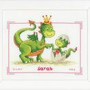 Dragons Cross Stitch Birth Record Kit additional 2