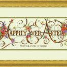 Ever After Cross Stitch Wedding Sampler Kit additional 2