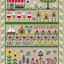 Summer Blooms Cross Stitch Kit additional 1