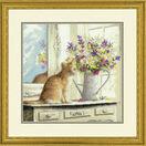 Kitten In The Window Cross Stitch Kit additional 2