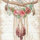 Floral Dreamcatcher Cross Stitch Kit additional 1