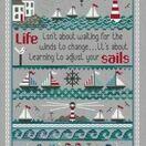 Adjust Your Sails Cross Stitch Kit additional 1