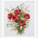 Poppies And Oats Cross Stitch Kit additional 2