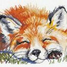 Red Fox Cross Stitch Kit additional 1