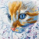 Ginger Cat Cross Stitch Kit additional 1
