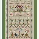 Garden Sampler Cross Stitch Kit additional 3