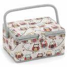 Hobby Gift Medium Sewing Box - Hoot Design additional 1