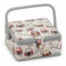 Hobby Gift Small Square Sewing Box - Hoot Design additional 1
