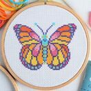 Beginners Butterfly - Learn How To Cross Stitch Complete Tutorial Kit additional 2