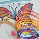 Beginners Butterfly - Learn How To Cross Stitch Complete Tutorial Kit additional 3