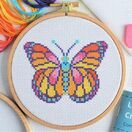 Beginners Butterfly - Learn How To Cross Stitch Complete Tutorial Kit additional 1