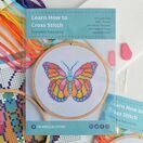 Beginners Butterfly - Learn How To Cross Stitch Complete Tutorial Kit additional 4