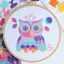 Florence The Owl Cross Stitch Kit additional 3