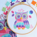 Florence The Owl Cross Stitch Kit additional 4