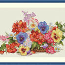 Garden Flowers Cross Stitch Kit additional 2