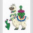 Llama Cross Stitch Kit additional 2